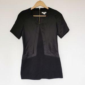 Helmut Lang Black design Short Sleeve Dress